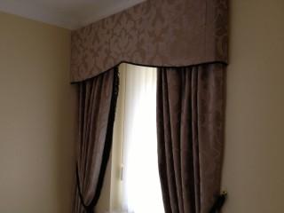 Shaped Hard Pelmet Curtains
